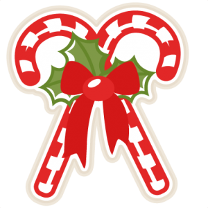 Candy Cane clipart kawaii Canes svg Candy outs christmas