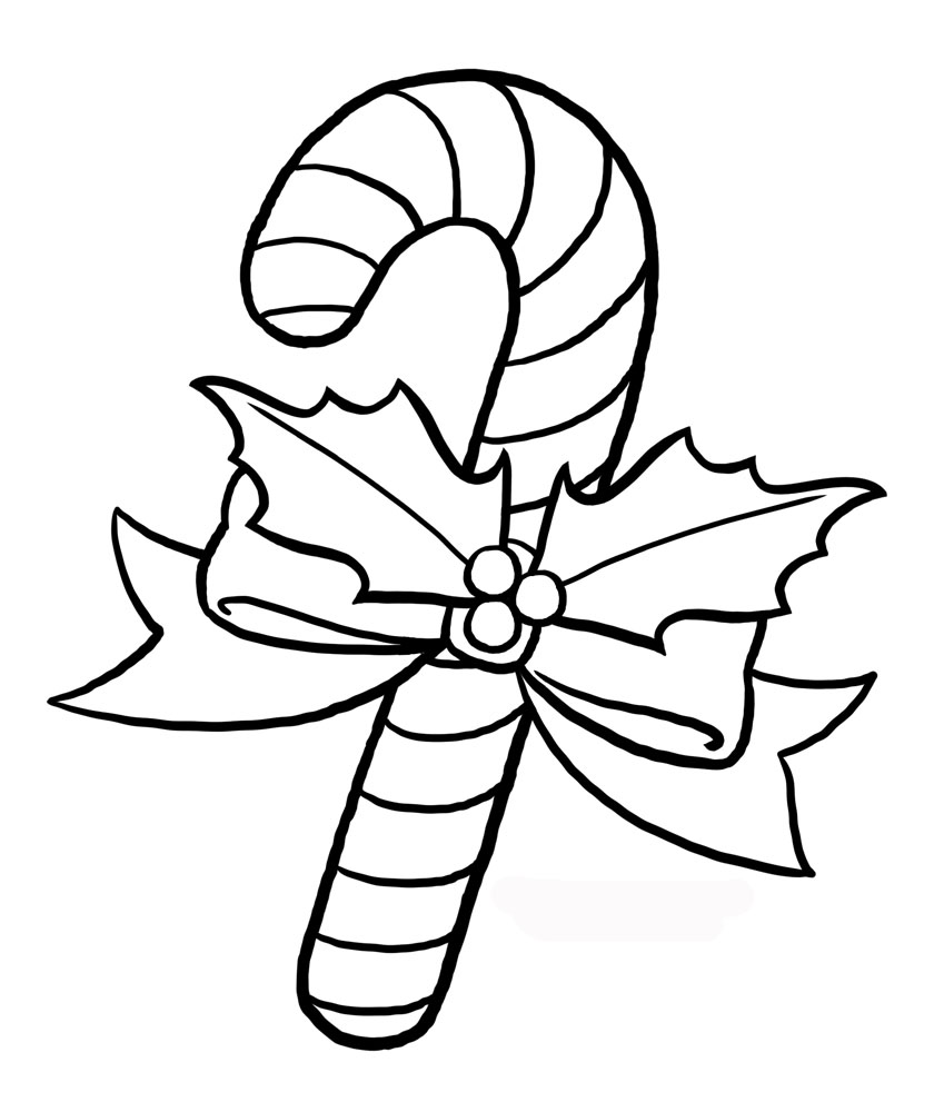 Candy Cane clipart kids Cane Outline Candy cane Cane