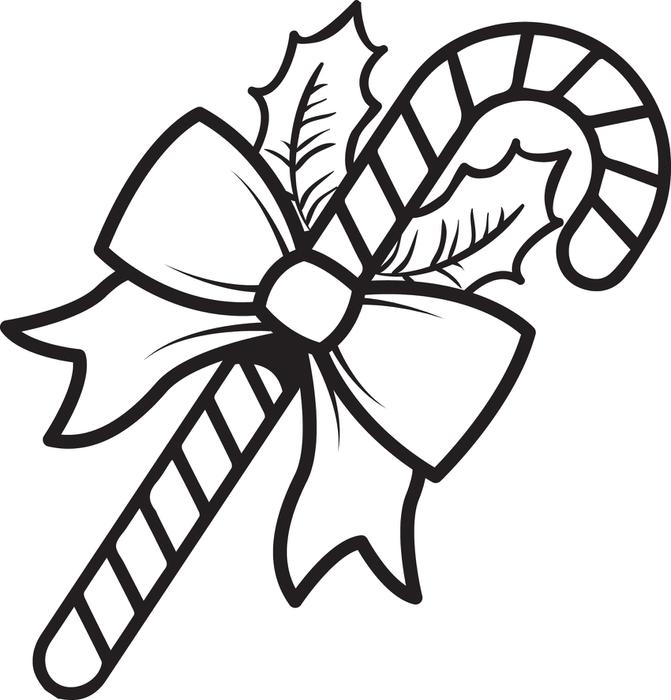 Candy Cane clipart kids For Coloring Coloring Page Candy