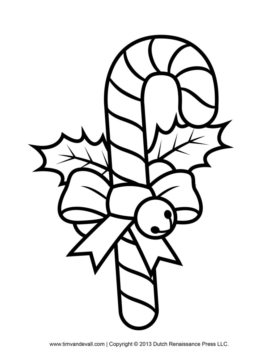 Candy Cane clipart kids Pages Cane Coloring Pages Pages