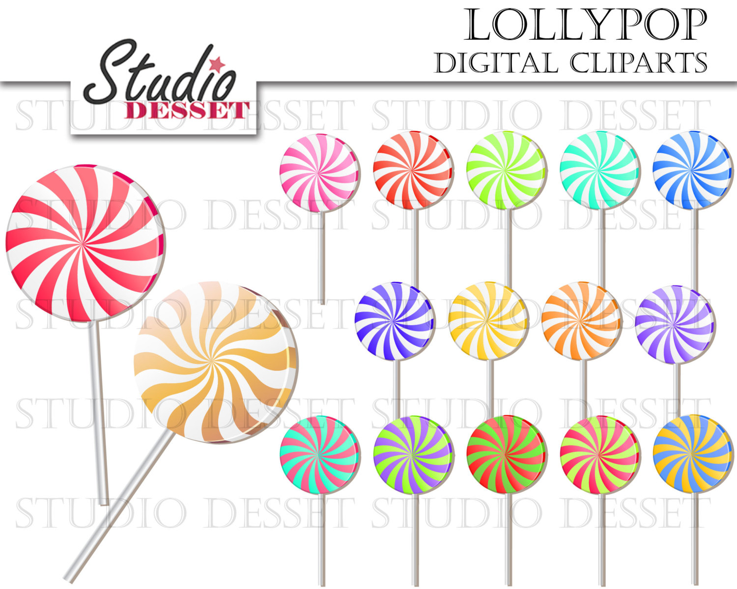 Candy Cane clipart lollipops A Digital is This Candy