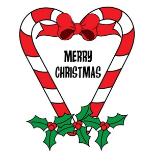Merry Christmas clipart candy cane Panda Images Christmas Merry Clipart