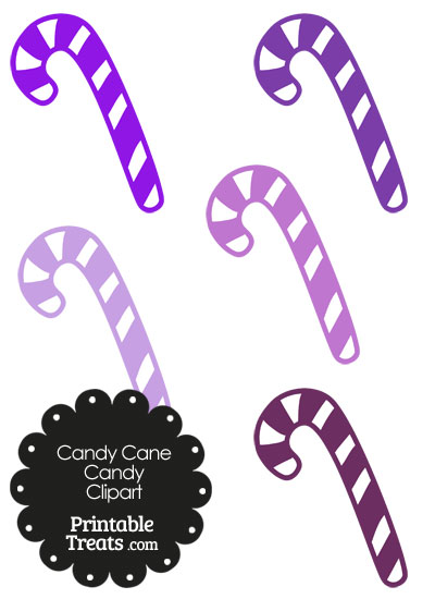 Candy Cane clipart purple Printable and Clipart — Cane