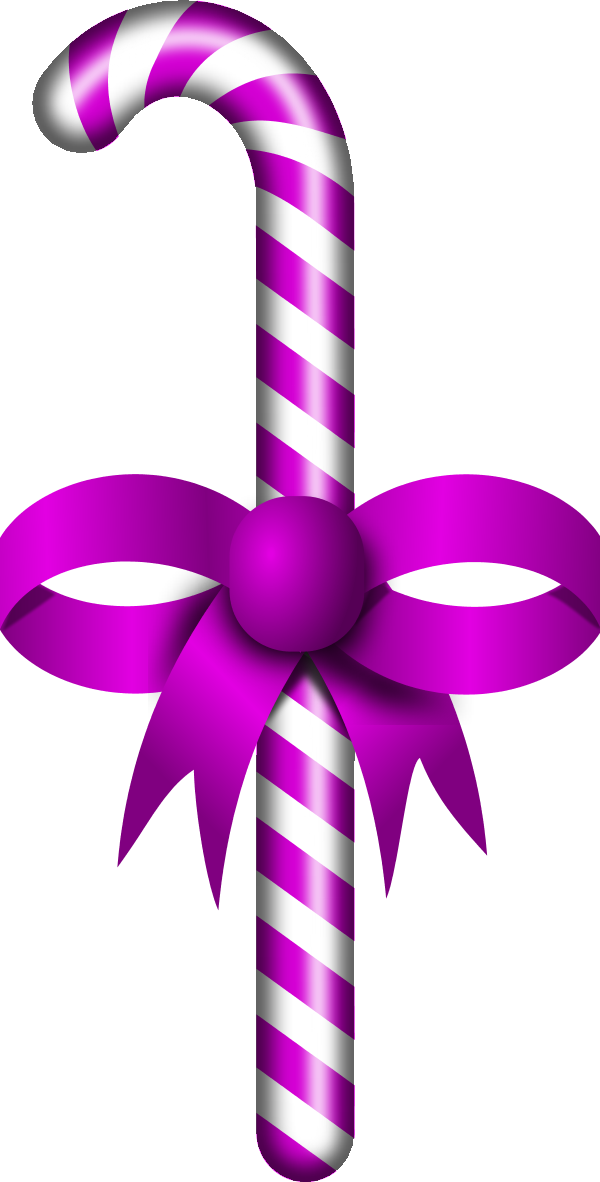 Candy Cane clipart purple  candy Blue on Clip