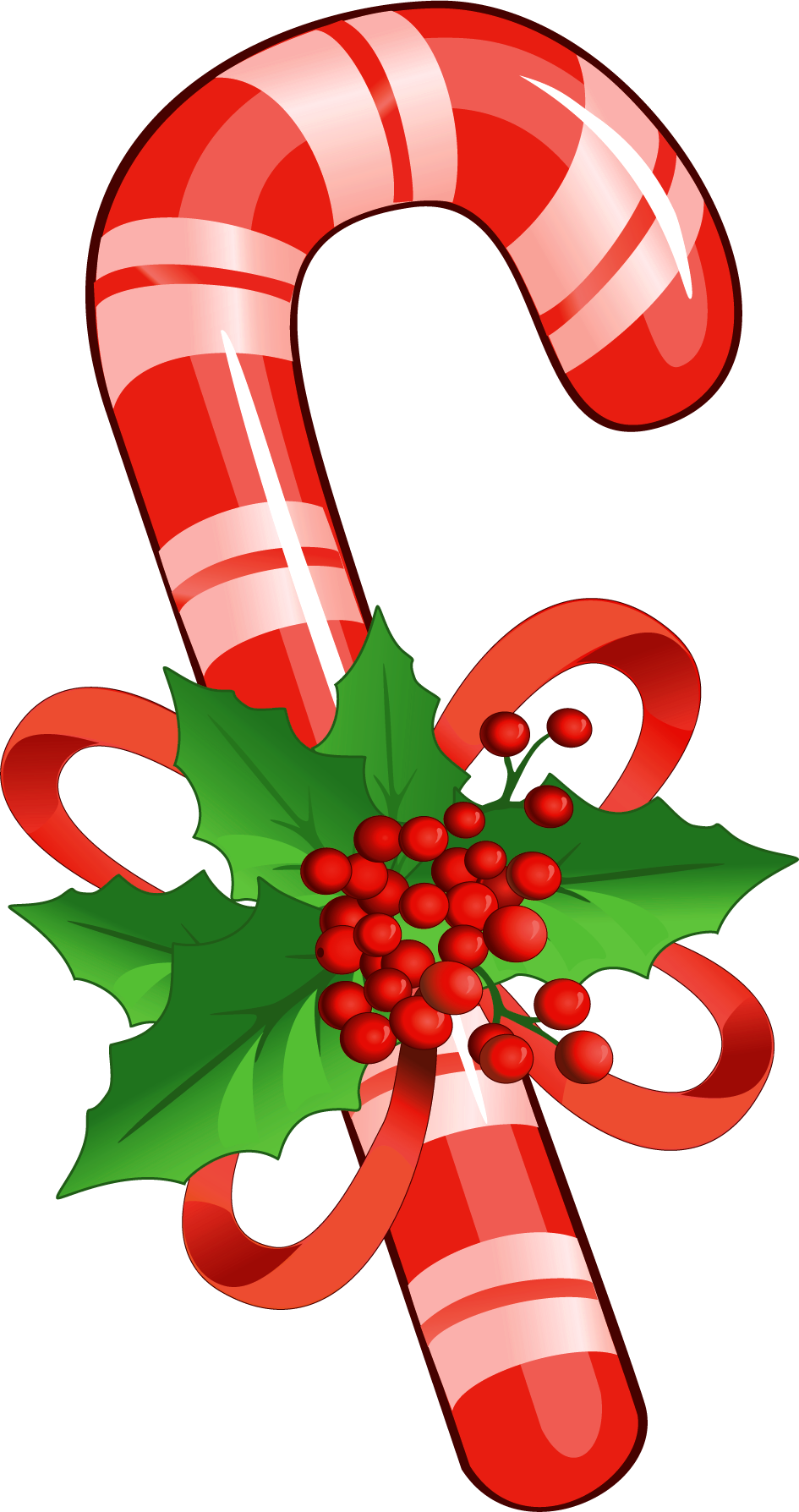 Candy Cane clipart transparent background Transparent PNG background free Christmas