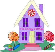Candy Bar clipart candy store Candyland clipart clipart Cottage candy