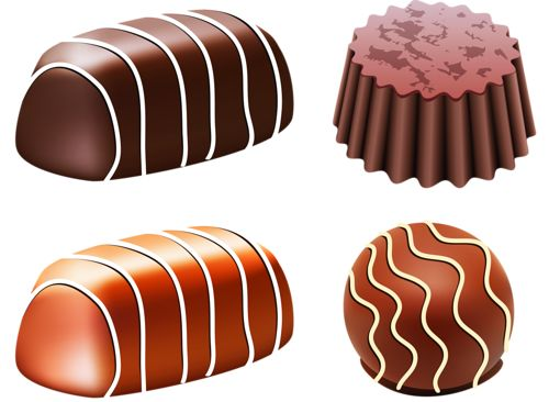 Candy Bar clipart chocolate truffle 239 images Chocolate best Pinterest