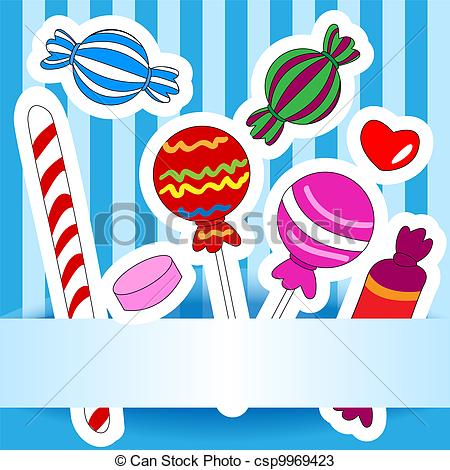 Candy clipart drawn Drawn wish of Vectors or
