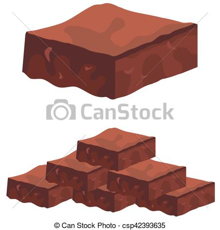 Chocolate clipart fudge  Clip Illustrations royalty 1