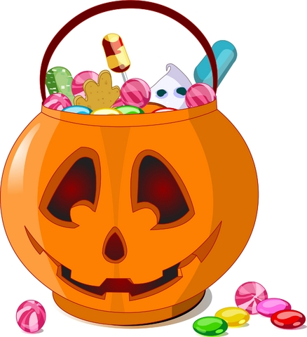Candy clipart haloween Of Clipart Halloween Candy Clipart