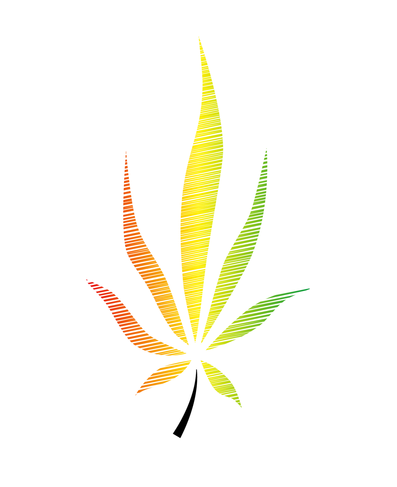 Drawn weed needle Free Cartoon Plant Vector Cannabis