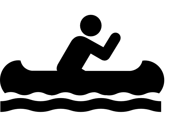 Canoe clipart At vector online public Acsess