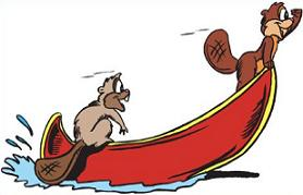 Canoe clipart Clipart Free cartoon canoe Canoe