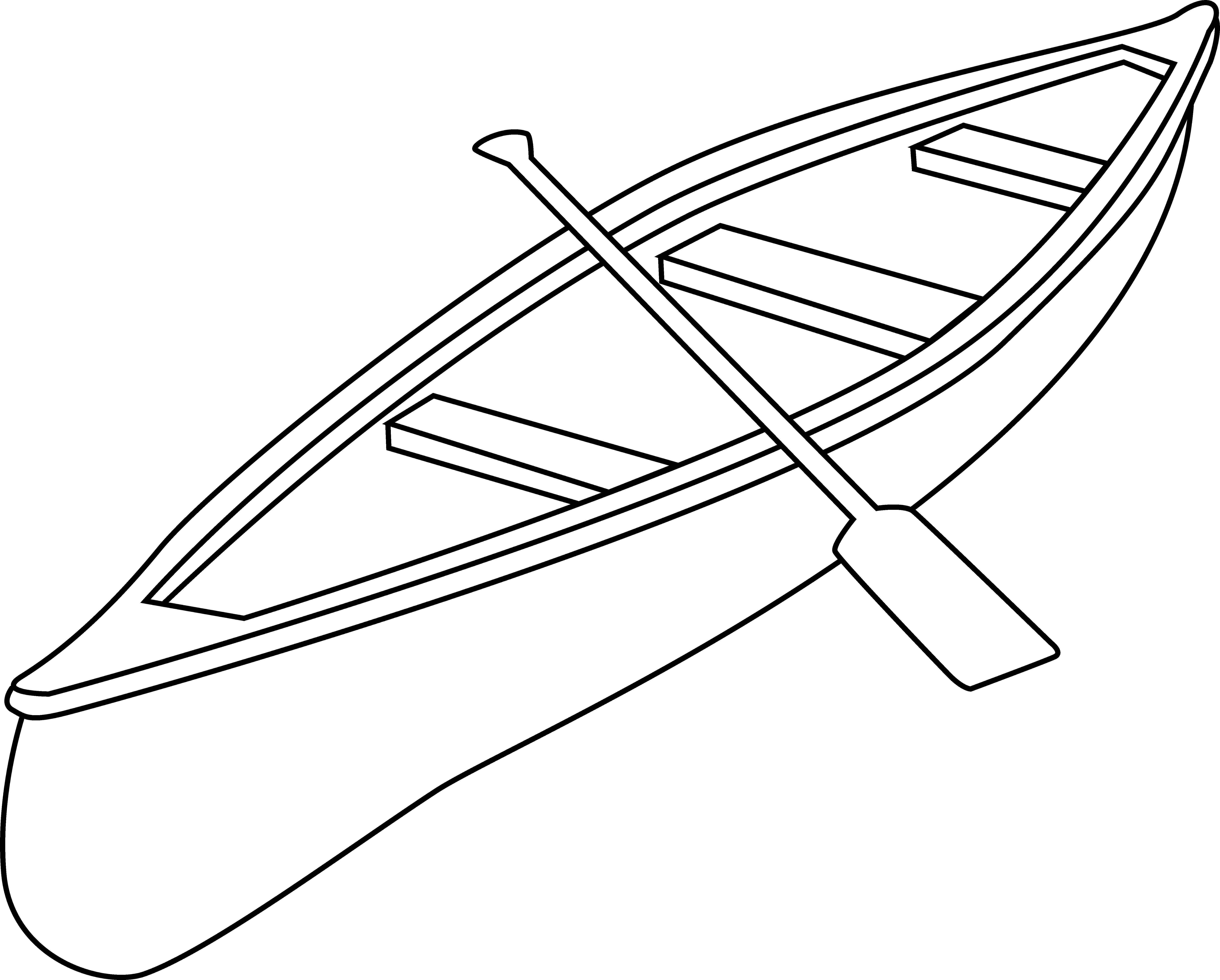 Kayak clipart outline Canoe Party Clip Retirement Art