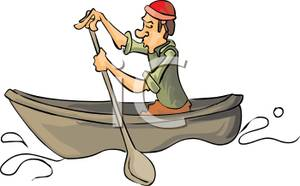 Canoe clipart boating Collection with of Colorful a