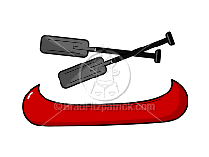 Canoe clipart cartoon Clipart Canoe Clipart Art Clip