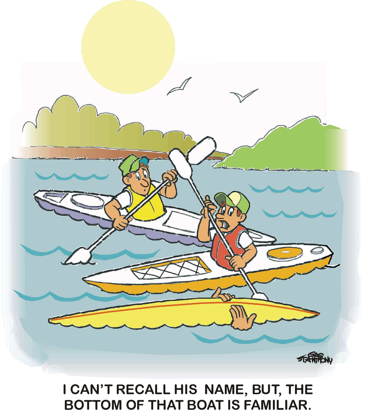 Canoe clipart funny Cartoon Search Canoeing and Google