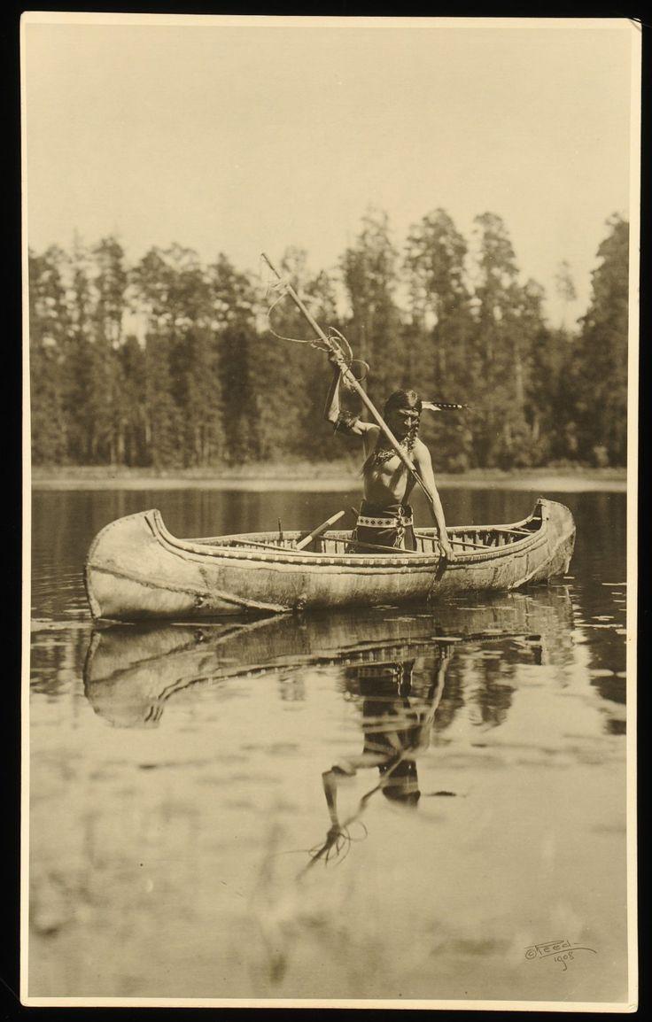 Canoe clipart ojibwe Anishinaabe Salteaux images by Fisherman