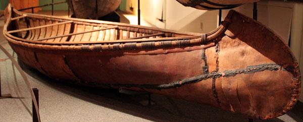 Canoe clipart ojibwe — Museum Bark Ojibway 51