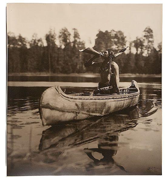 Canoe clipart ojibwe 1908 man Ojibwe 307 Way