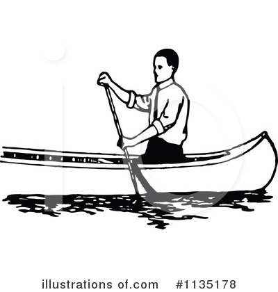 Canoe clipart side Black Clipart collection white of
