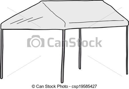 Canopy clipart Car tent Large csp19585427 Car
