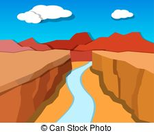 Canyon clipart In  and vector style