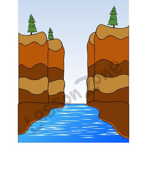 Canyon clipart NZ Lesson Zone Geography Canyon
