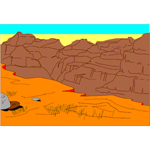 Canyon clipart plateau (wmf cliparts download png of