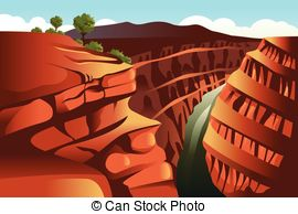 Grand Canyon clipart garnd Royalty Illustrations vector background Canyon