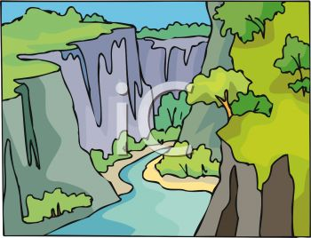 Canyon clipart #5