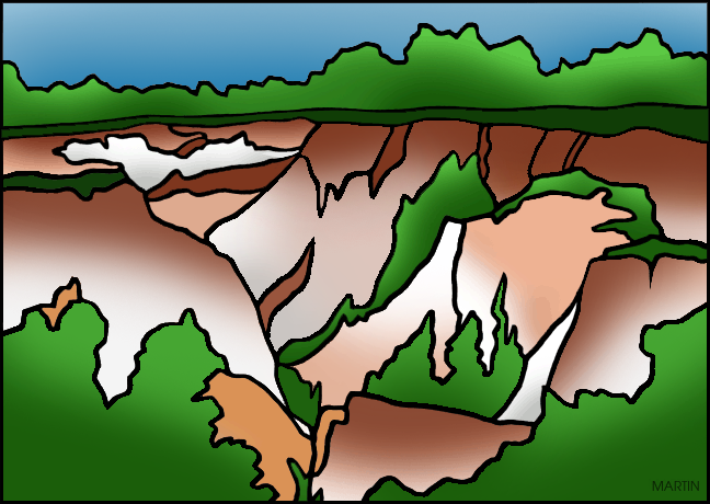 Canyon clipart famous Art by Georgia Clip Canyon