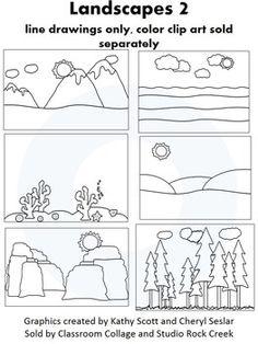 Canyon clipart famous Clipart Download Art – Landscape