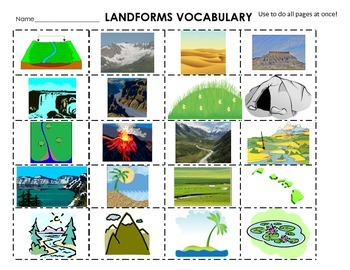 Canyon clipart famous Words centers & 20 Definitions