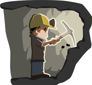 Caol clipart diamond miner Royalty at Clip Art Coal