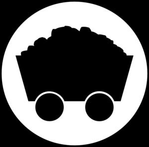 Caol clipart iron ore Panda clip Coal Symbol Clipart