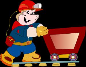 Caol clipart cartoon Art Miner art Cart at