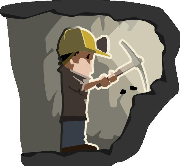 Caol clipart cartoon Clip vector Miner Clker com