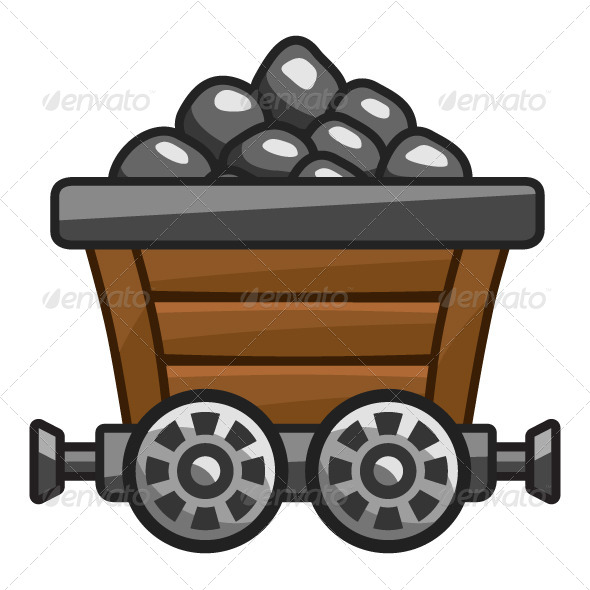 Caol clipart coal cart Business with Cart Mine Coal