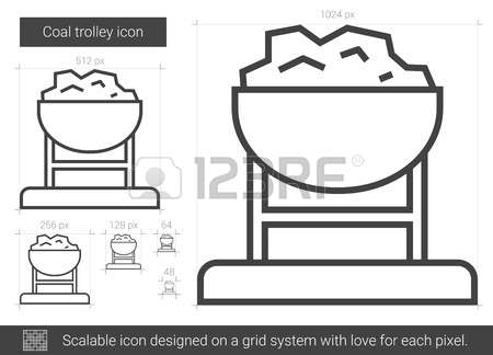 Caol clipart coal cart Coal Cart Coal cart Stock