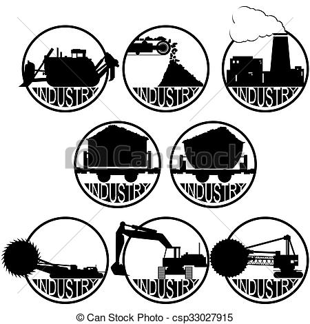 Caol clipart industry And mining industry mining Icons