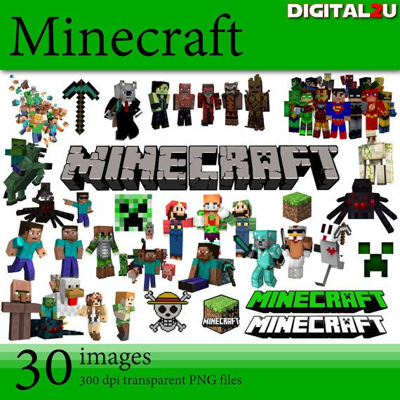 Caol clipart minecraft The 198 I Etsy this