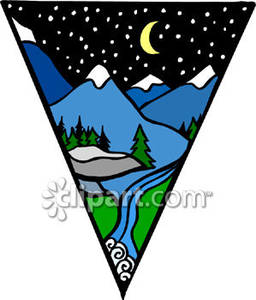 Capped clipart Free Capped Picture Mountains a