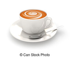 Cappuccino clipart Royalty  Clipart 272 on