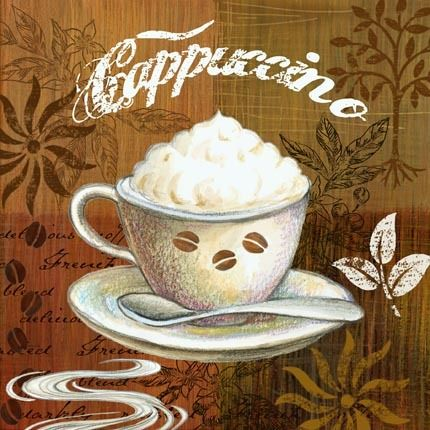 Cappuccino clipart bistro Decoupage and Coffee cafe bistro