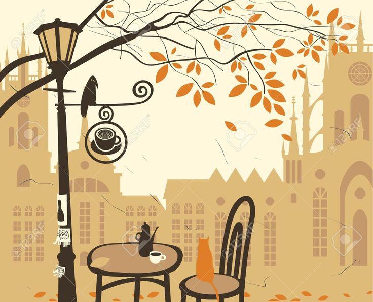 Town clipart autumn #9