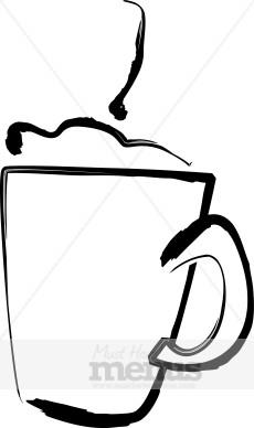 Cappuccino clipart black and white Coffee Cappuccino Clipart Clipart Cappuccino