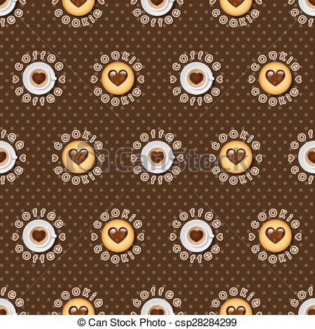 Cappuccino clipart cookie Cappuccino of Vectors cup cup