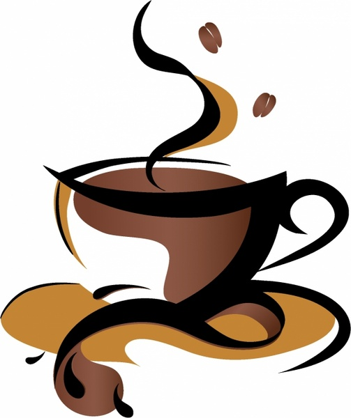 Cappuccino clipart gambar Sign  commercial vector) Coffee