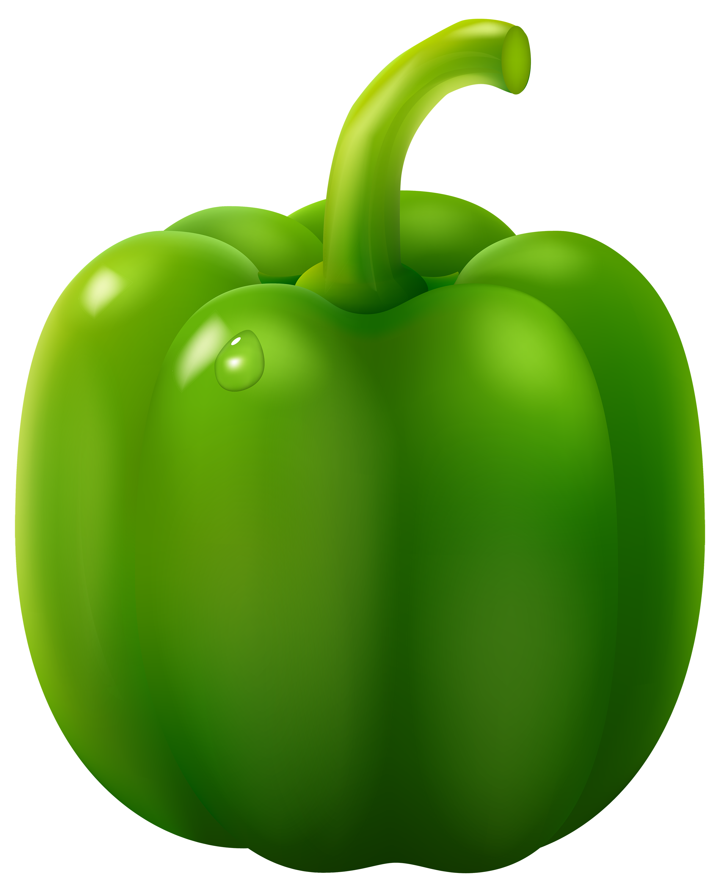 Capsicum clipart green leafy vegetable – Download Clipart Green Art